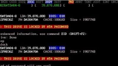 IBM20G3.5寸硬盘ATA加密一例