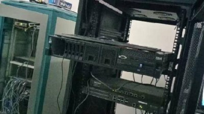 太原阳曲县某水泥厂IBMX3650服务器恢复成功