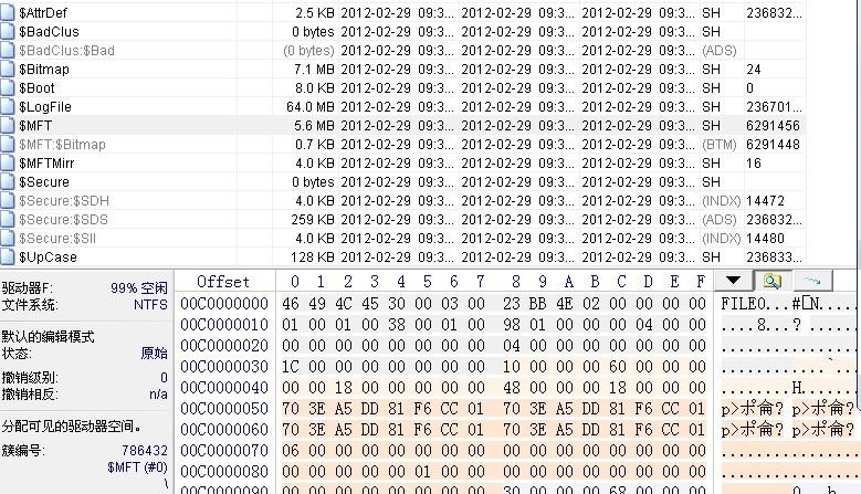 远程恢复格式化一例
